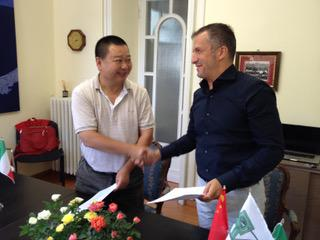 Joint venture with China for RVS