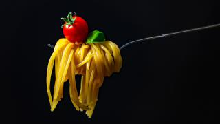 spaghetti food made in Italy
